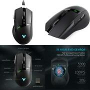 Rapoo Vt350 Gaming Mouse, Wired And Wireless Dual Modes Rechargeable Ergonomic D