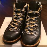Used Visvim Whyper Boots Folk Mens 26cm 8 Size Navy Color Made In Norway