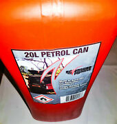 Scepter 3609 20 Liter 5.3 Gallon Plastic Fuel Can Military Style Red With Nozzle