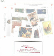 2015 Smom , Stamps New, Year Complete, 31 Values +7 Sheetlets Mnh
