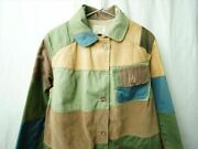 Abercrombie And Fitch Crazy Patchwork Hunting Jacket Vintage 1950-70s Men's S Size