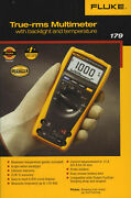 Fluke 179 True-rms Multimeter Neu And In Ovp, Inkl. Messkabel And Thermocouple