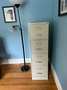 4-drawer Vertical File Cabinet Putty 52