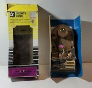 Vintage Jimmy Proof Lock Ilco Unican Double Cylinder 2 Keys