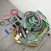1982-1991 Jeep 12v Underdash Wire Harness 24 Circuit Fuse Box Wiring Upgrade Kit