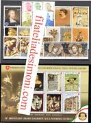 2019 Smom , Stamps New, Year Complete 20 Values +14 Sheetlets Mnh