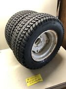 Ford Lgt-145 Open-side Tractor Rear Wheels And Tires 22x9.5-12 Goodyears