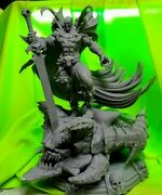3d Printed 1/4 Spawn Statue Over 14inches Tall Wow