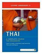 Rare New Spoken World Thai Course Package Book/6 Cds Living Language