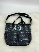 Thirty-one Crossbody Tote, Ditty Dot Pattern With Letter M