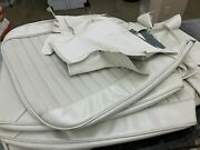 1970 Gto Lemans Nos Comfort Weave Bucket Seat Covers Pearl - Pair