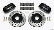 Wilwood Fit Dpha Front Caliper And Rotor Kit Drilled Honda / Acura W/ 262mm
