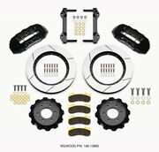 Wilwood Fit Tx6r Front Kit 15.50in Black 2010-up Ford F150 6 Lug