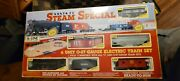 Sante Fe Steam Special 6 Unit 0-27 Gauge Eletric Train Set New And In Box