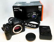 Sony Alpha 7r Iv 61 Mp Digital Camera Full Frame Ilce7rm4 Low Shutter Count 1115