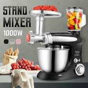 Multifunctional Stand Mixer 6 Speed Electric Food Blender Mixer 1000w Meat Grind
