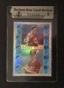 Beckett Raw Card Review Refractor John Curtice/mike Cuddyer Rc494 Bgs 9 046809