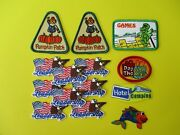 New 14 Girl Scout Fun Patches Pumpkin Patch, Leadership, Games