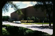 Cars And Arena In Huron, South Dakota In Mid 1950's, Kodachrome Slide H2b