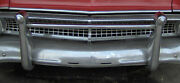 Nos 1955 1956 Ford Accessory Front Grill And Bumper Guard
