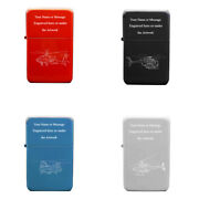Engraved Personalised Helicopter Lighter Aviation Pilot Engineer Outdoor Gift