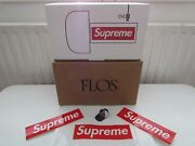 Supreme F/w 2020 Flos Bellhop Lamp Red Box Logo Led/wireless/rechargeable
