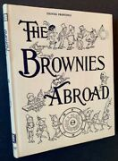 Palmer Cox / The Brownies Abroad In A Gorgeous Dustjacket