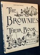 Palmer Cox / The Brownies Their Book In A Sparkling Dustjacket 1920