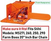Fits Chainsaw Models Listed Carrying Case Replacement Powerbox Stackable Tool