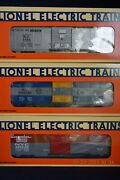Lionel 19266 6464 Boxcar Series Lll, Includes Nyc, Mp, Rock Island New In Box