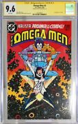 Omega Men 3 - Cgc Sig Series 9.6 - 1st App Of Lobo - Signed By Keith Giffen