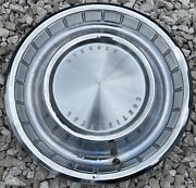 Oem Ford Single 15 Hub Cap Wheel Cover 1962-1963 Lincoln Continental Old School