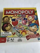 Monopoly Junior Party 2011 Edition Fast Dealing Party Themed Board Game Nib