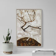 Egon Schiele - Small Tree In Late Autumn 1911 Photo Poster Painting Art Print