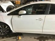13 14 Honda Civic Driver Front Door Electric Sdn 1.8l Ex-l Leather White