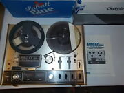 Akai 4000ds Mk-ii Reel-to Reel Tape Deck Recorder With Manual