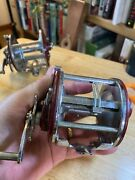 Vintage Penn Peer 209 Level Wind Conventional Reel - Made In Usa