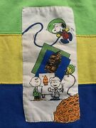 Authentic Vintage Peanuts Charlie Brown Snoopy Crewneck Sweater Youth Size 7