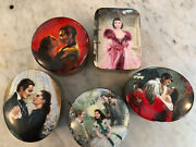 Gone With The Wind Music Boxesset / Lot Of 5 Wl George Turner Ent. Co