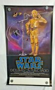 Star Wars 1981 Npr Public Radio Poster  Rolled Never Used Vintage Authentic