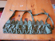 Chinese Pla Sks Type 56 Chest Rig Bandolier Ammo Pouch 10