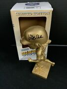 Dodgers Ws Champion Kirk Gibson Signed Le Original Gold Bobblehead Bas We78101