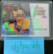 2002-03 Topps Chrome Shaquille Oand039neal Shaq Attack Refractor 26/34 Sac4 🔥🔥