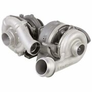 For Ford Super Duty 6.4 Powerstroke Diesel 08-10 Compound Turbo Turbocharger Gap