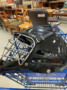 Cascade Cpx-r Lacrosse Lax Helmet Black Cpxr Fits Most Adjustable E