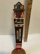 Lake Of The Woods Fire House Ale Draft Beer Tap Handle. Canada