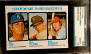 1973 Topps Mike Schmidt Rookie Sgc 8.5 Nm/mt + Dead Centered