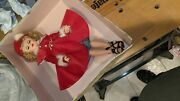 Vintage Late 1950and039s Rare Madame Alexander 18 Inch Doll With Red Aline Petticoat
