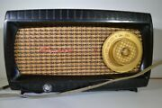 1950's Bakelite Plaid Front Capehart Model T-54 Radio - Tested-static Only