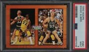 1993 Hoops Magic Johnson And Larry Bird Mb1 Psa 9 Mint Only 1 Graded Higher Pop 1